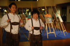 Closing Gala Dinner and Bavarian Night, Participants Wear Bavarian Dresses