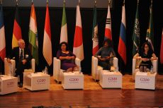 G200 Youth Forum 2016 Official Opening Ceremony, Plenary Session Panellists