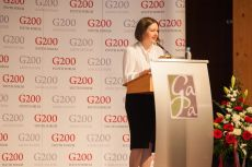 G200 Youth Forum 2015 Official Opening Ceremony, Ms. Ksenia Khoruzhnikova, G200 Association Founder and President