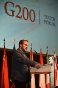 G200 Youth Forum 2016 Official Closing Ceremony, Mr. Johan Ferreira, Student, University of Pretoria, South Africa - Head of Secretaries of the G200 Youth Summit