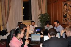 Ministerial Negotiations of G8 Youth Summit, co-organized by the NGO International Youth Diplomacy League