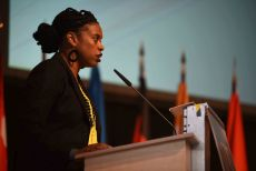 G200 Youth Forum 2016 Official Closing Ceremony, Ms. Kisha McPherson, Head of Secretaries of the Conference Platform