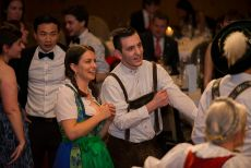 Closing Gala Dinner and Bavarian Night, Participants Wearing Bavarian Dresses