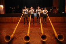 Closing Gala Dinner and Bavarian Night, Alphorn Musicians Conduct Master Class