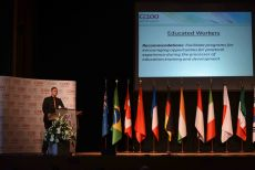 G200 Youth Forum 2016 Official Closing Ceremony, Mr. Kane Versteeg, Student, Griffith University, Australia- Secretary General of the Shaping the Labour Market Committee