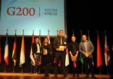 G200 Youth Forum 2016 Official Closing Ceremony. Some Presents from the G200 Association