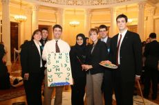 G8 Youth Summit, organized by NGO International Youth Diplomacy League, «The Future of the World» picture, created by the USA delegation 2006
