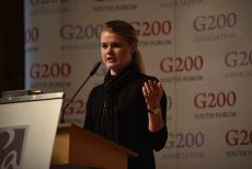 G200 Youth Forum 2016 Official Closing Ceremony, Ms. Sarah Tresedder, Student, Michigan State University - Secretary General of the Global Health Committee
