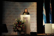 Ksenia Khoruzhnikova, Founder and President of G8 & G20 Alumni Association, Switzerland