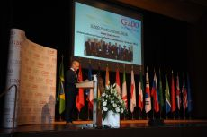 G200 Youth Forum 2016 Official Closing Ceremony, Secretary General – Mr. Andy Rossel, Parliamentarian, Limburg Parliament, the Netherlands