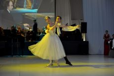 Olesya Gapienko and Ilya Zabotin, Ballet soloists of the St. Petersburg State Rimsky-Korsakov Conservatory