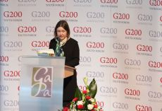 G200 Youth Forum 2015 Official Closing Ceremony, Ms. Ksenia Khoruzhnikova, G200 Association Founder and President