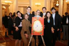 G8 Youth Summit, organized by NGO International Youth Diplomacy League, «The Future of the World» picture,  created by the French Delegation 2006