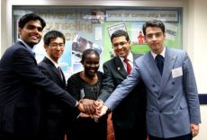 Youth BRICS meeting at G8 & G20 Youth Summit 2012 co-organized by the IYDL