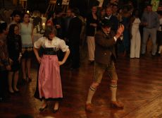Closing Gala Dinner and Bavarian Night, Dr. Hellmut Schmücker and Ms. Claudia Bill Conduct Dancing Master Class for Participants