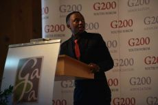 G200 Youth Forum 2016 Official Closing Ceremony, Mr. Thabang Letlabika, South Africa - Secretary General of the Round Table IV: Social Affairs and Medicine