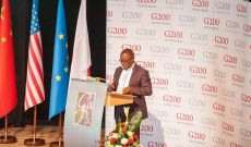 G200 Youth Forum 2015 Official Closing Ceremony, Hon. Sibusiso Innocent Malaza, Member of Mpumalanga Provincial Legislature, South Africa, Chair of International Young Parliamentarians` Debate Committee