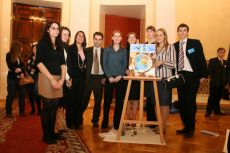G8 Youth Summit, organized by NGO International Youth Diplomacy League, «The Future of the World» picture,  created by the British Delegation 2006