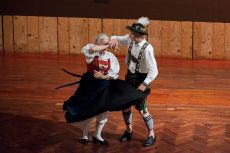 Closing Gala Dinner and Bavarian Night, Klaudia and Franz Pittrich Performing Tirol National Dances